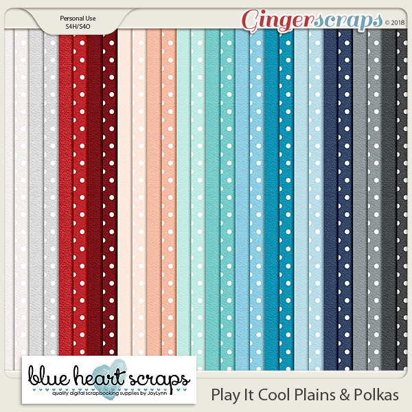 Play It Cool Plains & Polkas Paper Pack