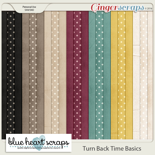 Turn Back Time Basic Paper Pack