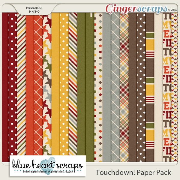 Touchdown Paper Pack