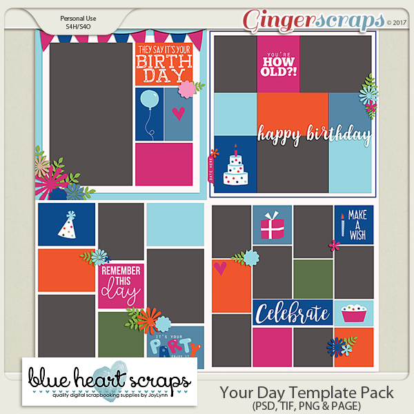 Your Day Template Pack