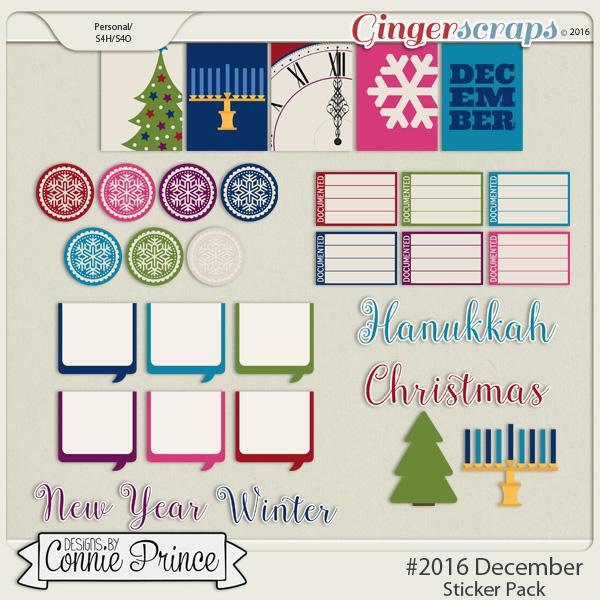 #2016 December - Sticker Pack