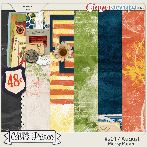 #2017 August - Messy Papers