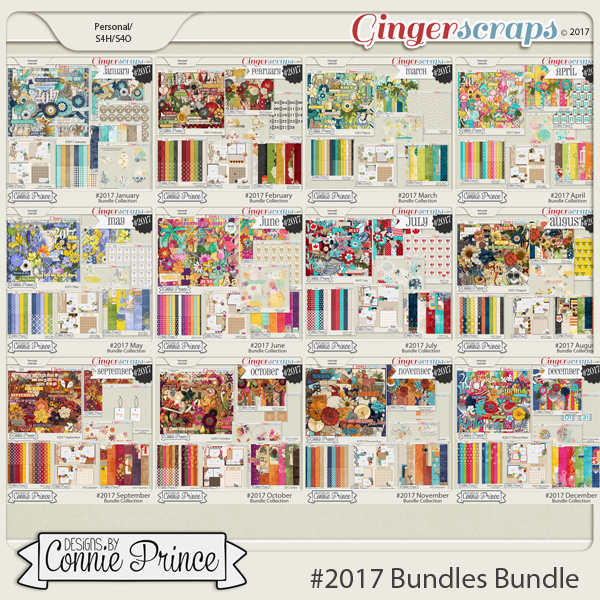 #2017 Bundles Bundle by Connie Prince