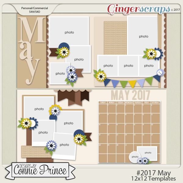 #2017 May - 12x12 Template Pack (CU Ok)