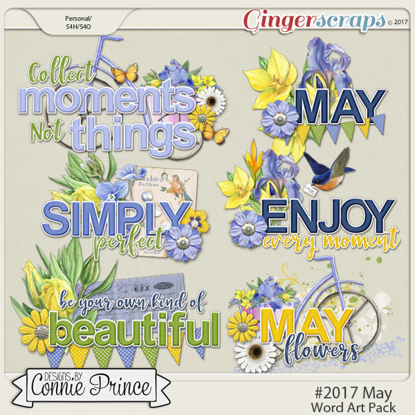 #2017 May - Word Art Pack