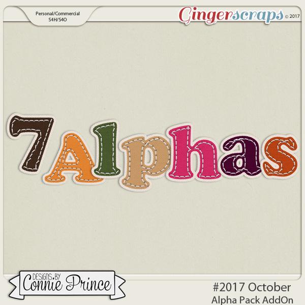 #2017 October - Alpha Pack AddOn