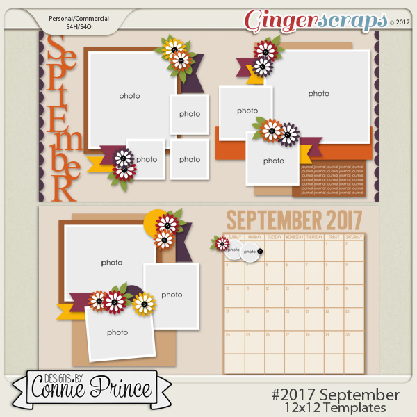 #2017 September - 12x12 Template Pack (CU Ok)