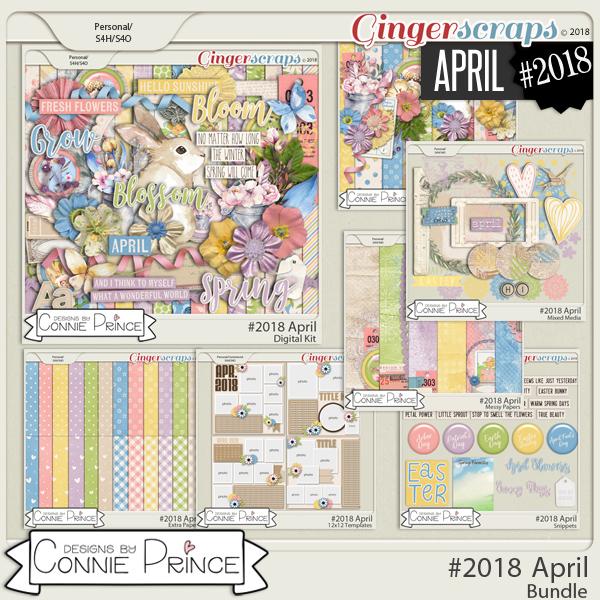 #2018 April - Bundle Collection by Connie Prince