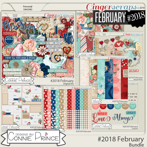 #2018 February - Bundle Collection by Connie Prince