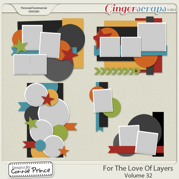 Retiring Soon - For The Love Of Layers Vol 32 (CU Ok)