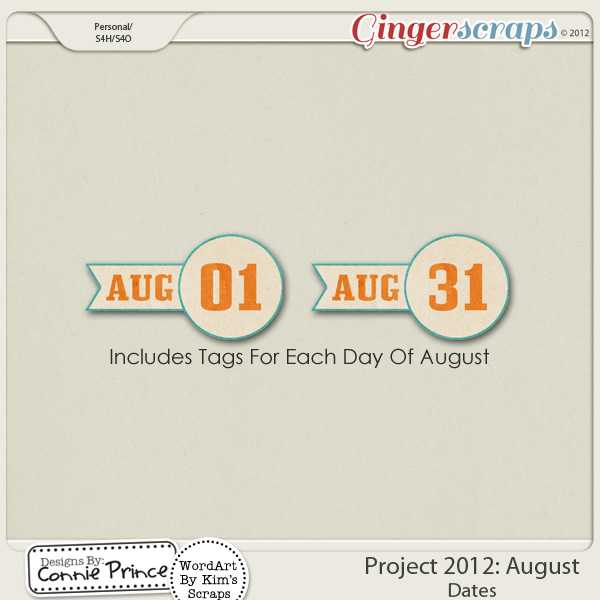 Retiring Soon - Project 2012:  August - Dates