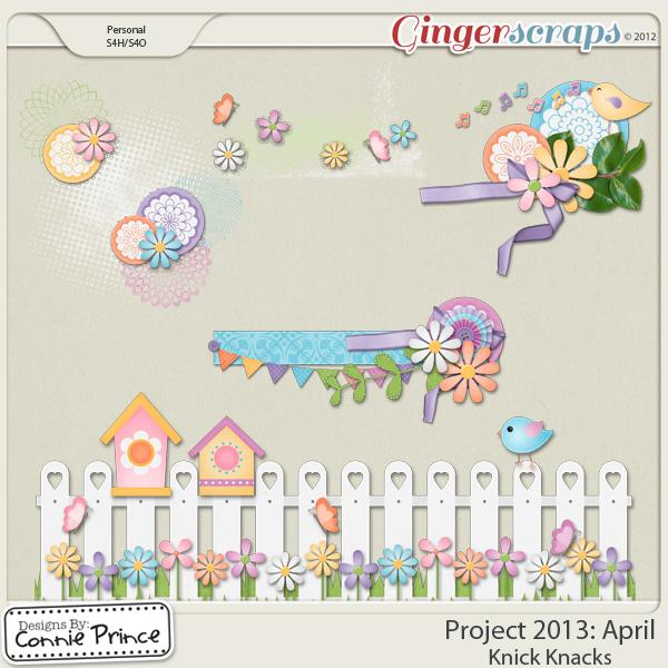 Project 2013: April - Knick Knacks