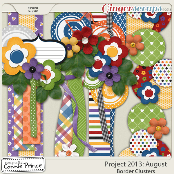Project 2013: August - Border Clusters