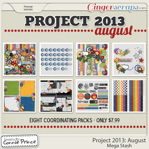 Project 2013:  August - Mega Stash