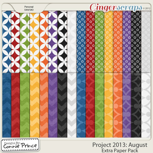 Project 2013: August - Extra Papers