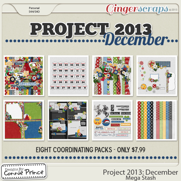 Project 2013:  December - Mega Stash