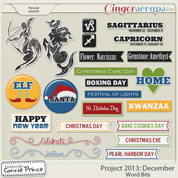 Project 2013:  December - WordBits