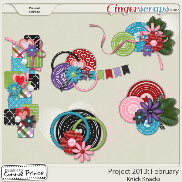 Project 2013: February - Knick Knacks