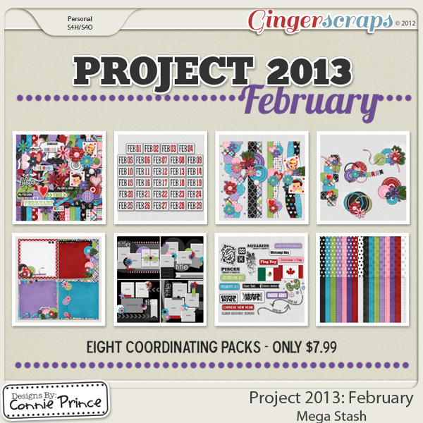 Project 2013: February - Mega Stash