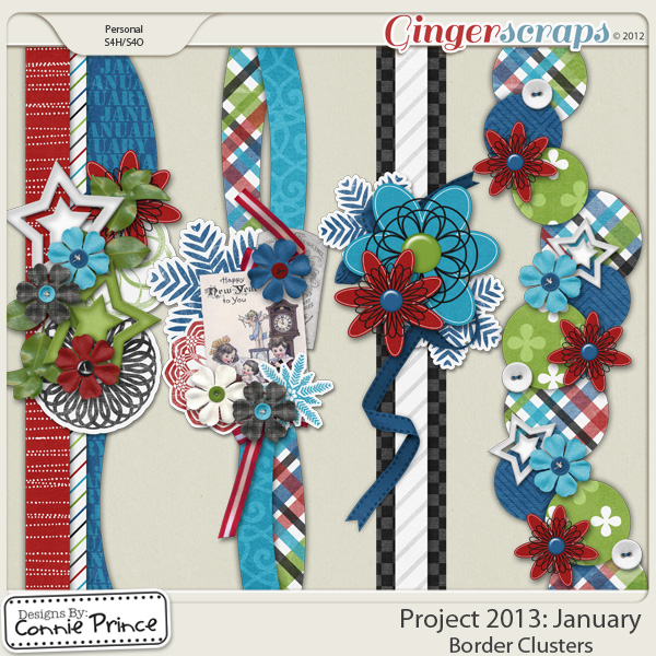 Project 2013: January - Border Clusters