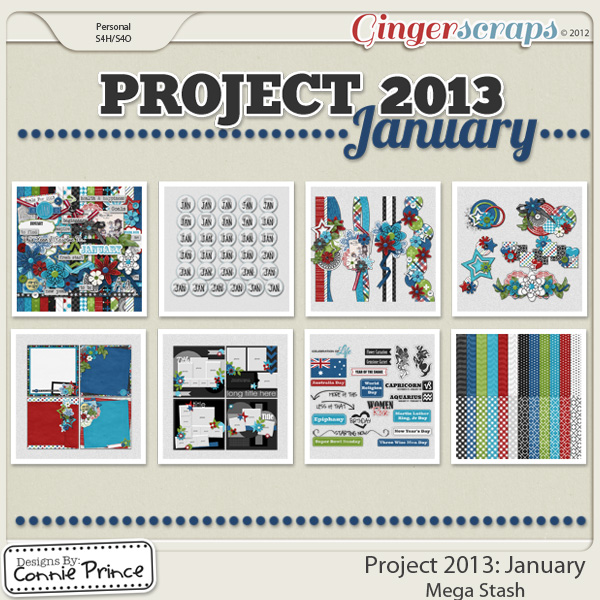 Project 2013: January - Mega Stash