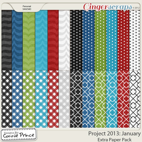Project 2013: January - Extra Papers