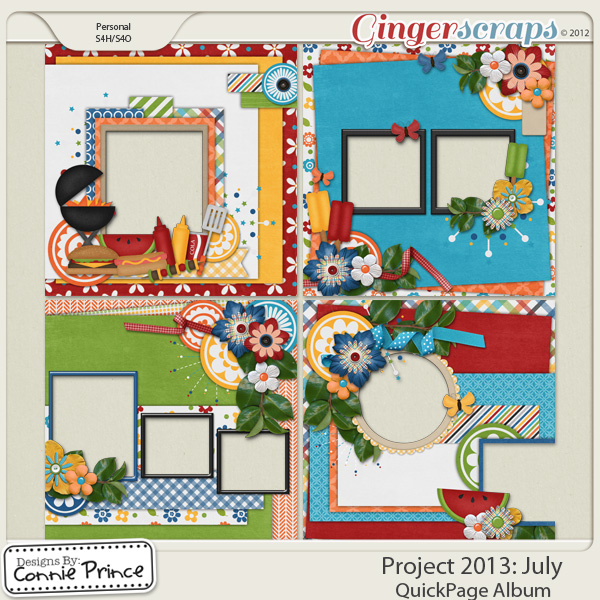 Project 2013: July - QuickPages