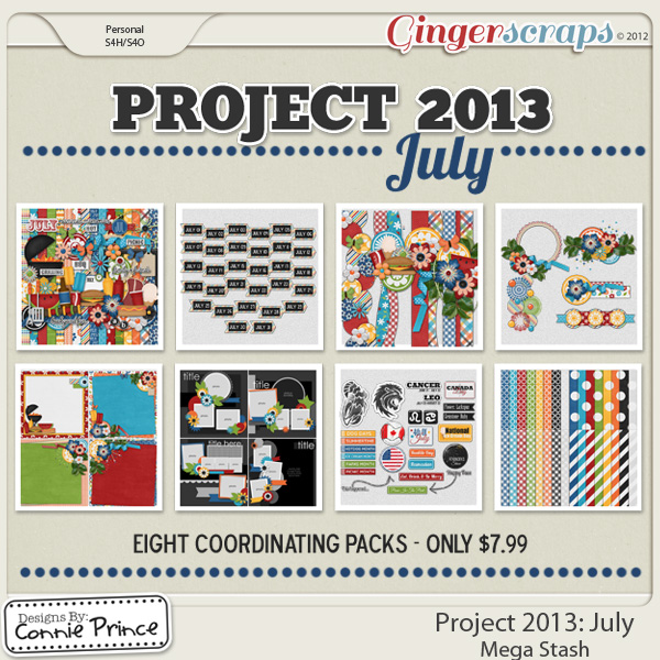 Project 2013: July - Mega Stash