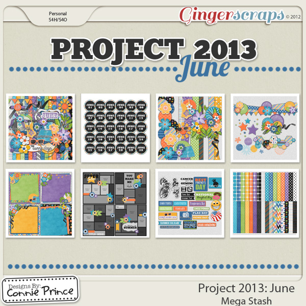 Project 2013: June - Mega Stash