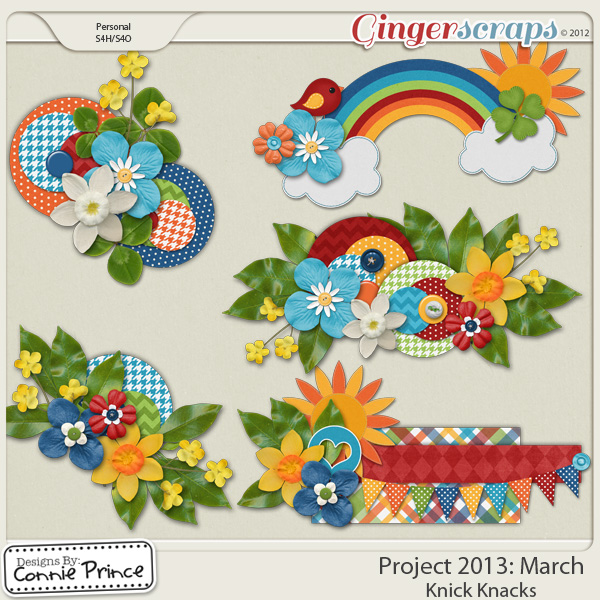 Project 2013:  March - Knick Knacks