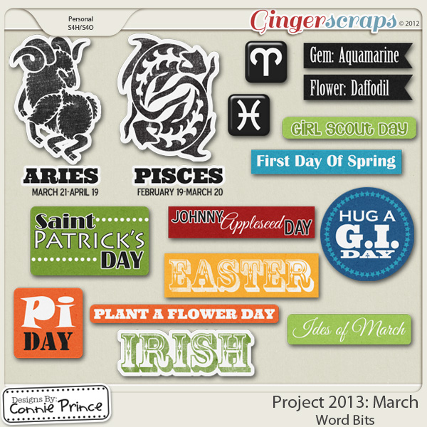 Project 2013:  March - WordBits