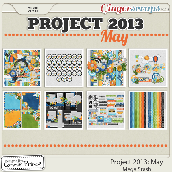 Project 2013: May - Mega Stash