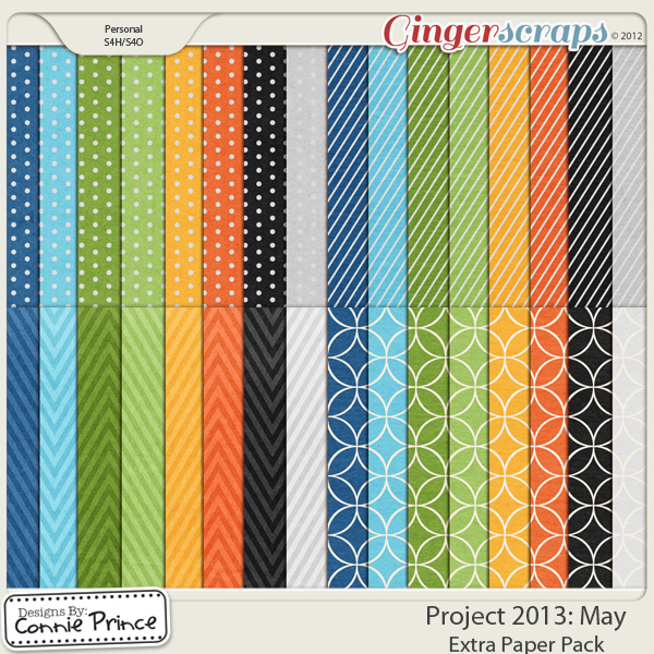 Project 2013: May - Extra Papers