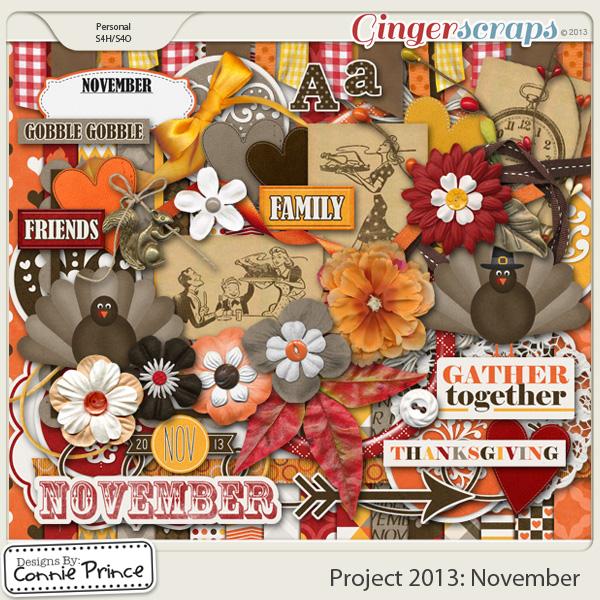 Project 2013:  November - Kit
