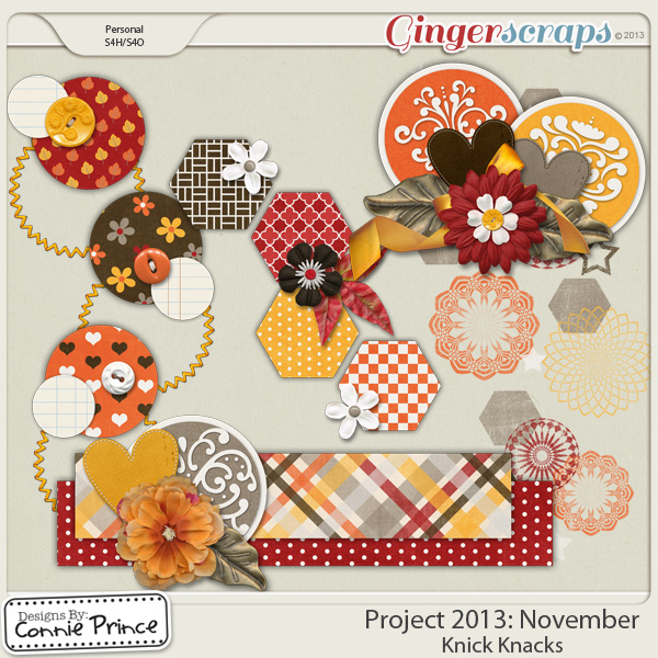 Project 2013:  November - Knick Knacks