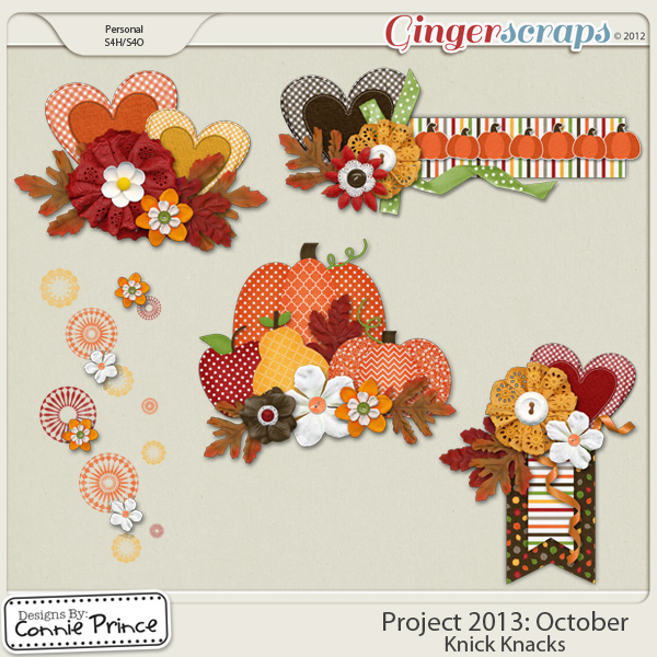 Project 2013:  October - Knick Knacks
