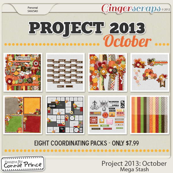 Project 2013:  October - Mega Stash