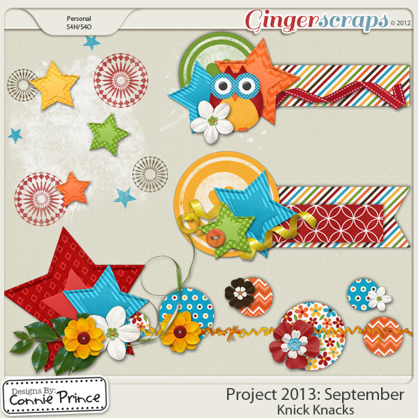 Project 2013:  September - Knick Knacks