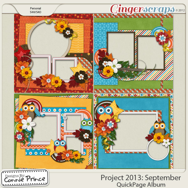 Project 2013:  September - QuickPages