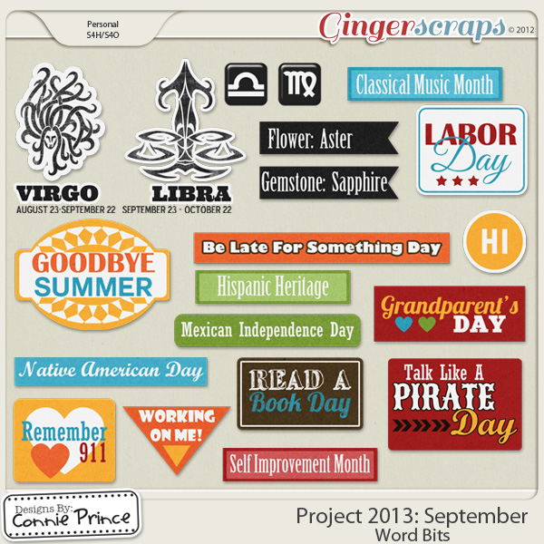 Project 2013:  September - WordBits