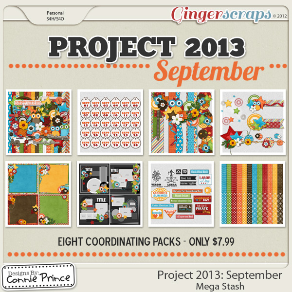 Project 2013:  September - Mega Stash