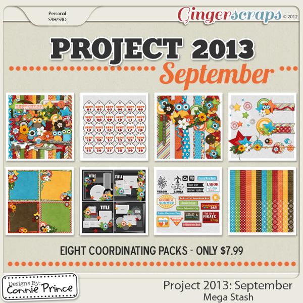 Project 2013:  September - Mega Stash