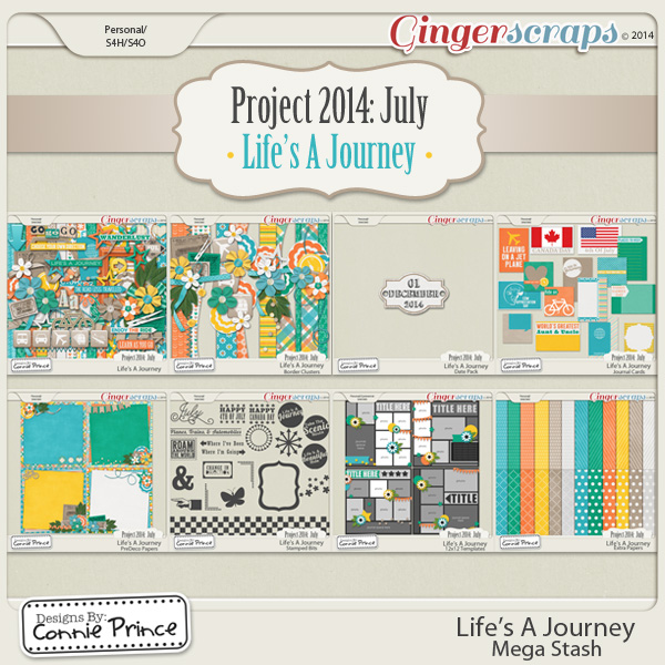 Project 2014 July: Life's A Journey - Mega Stash