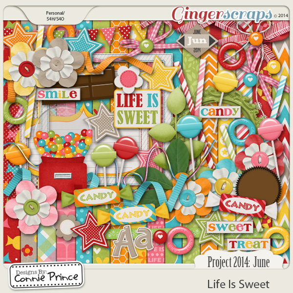 Project 2014 June:  Life Is Sweet - Kit
