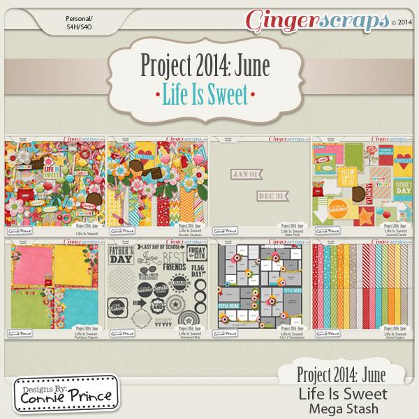 Retiring Soon - Project 2014 June:  Life Is Sweet - Mega Stash
