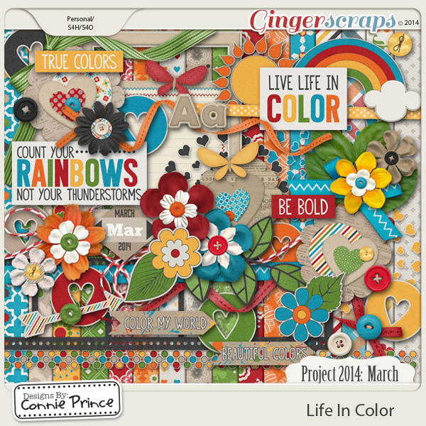 Retiring Soon - Project 2014 March: Life In Color - Kit