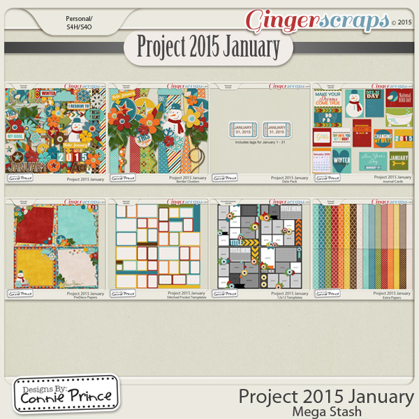 Project 2015 January - Mega Stash