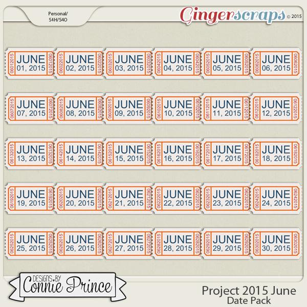 Project 2015 June - Dates
