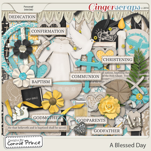 A Blessed Day - Kit