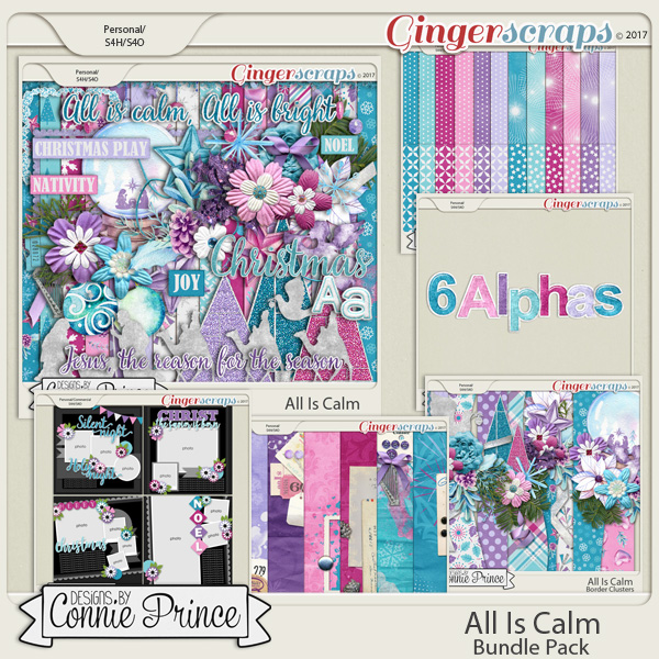All Is Calm- Core Bundle by Connie Prince